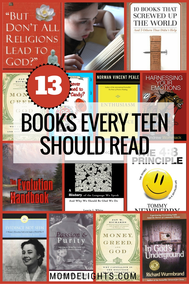 13 Books Every Teen Should Read - Mom Delights